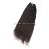 Brazilian Virgin Hair Weave kinky straight 4ozs thick Bundles