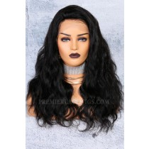 """250% Density 4.5"""" Lace Front Wigs Indian Remy Hair Body Wave Big Bomb Hair Seriously Thick Look"""