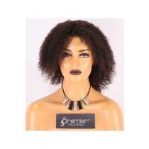 Clearance Affordable Wigs,Jerry Curl,Indian Remy Hair,14inches,2# Color,130% Density,Medium Size