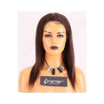 Clearance Thin Skin Perimeter Full Lace Wigs With Silk Top,Silky Straight,Mixed Color,14inches,Malaysian Virgin Hair,100% Density,Transparent Lace