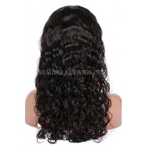 Brazilian Virgin Hair Peruvian Curl Glueless Lace Wigs