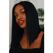 Kiitanaxo's Trendy Bob Virgin Hair Lace Front Wigs