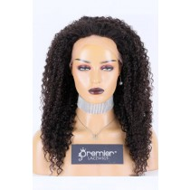 "Transparent HD 13""*3"" Lace Frontal Wig Kinky Curly,100% Cuticles Aligned Virgin Hair, Natural color 20 inches 200% Extra Thick Density,Average Size,Pre-bleached knots"