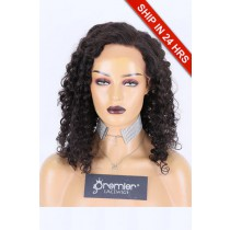 Glueless Lace Front Wig Candy Curl,Chinese Virgin Hair 20 inches,Natural Color,130% Density,Average Size