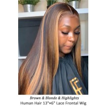 Highlight Hair Bone Straight