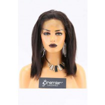 Clearance 360 Lace Frontal Indian Remy Hair 10inches Natural Color Natural Straight