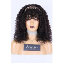Human Hair Glueless Headband Wig