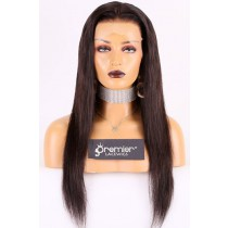 20 inches natural black hair 150% thick density
