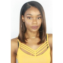 Brown Ombre Bob Lace Front Wig
