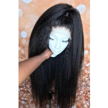 Invisible Knots,Super Thin Transparent HD Lace Kinky Straight