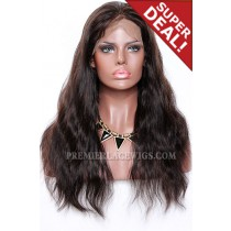 1B/33# Highlights Color Full Lace Wigs Indian Remy Human Hair Natural Straight