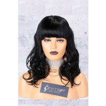 Wavy Style Full Bangs Non-Lace Wig
