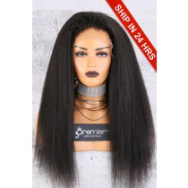 Affordable 13x4.5 Lace Frontal Wig,Kinky Straight