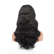 Chinese Virgin Hair Glueless Body Wave Lace Wigs