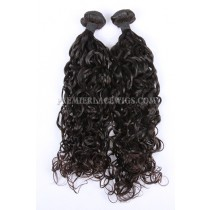 Loose Curl Peruvian Virgin Hair Weave 2 Bundles Hair Deal