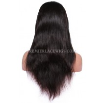 Brazilian Virgin Hair Silky Straight Glueless Full Lace Wigs