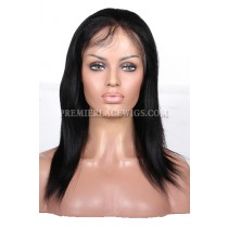 Indian Remy Hair 1# 12inches Large Size Body Wave Clearance Full Lace Wigs
