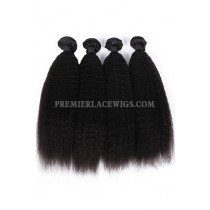 Indian Virgin Hair Weaves Kinky Straight