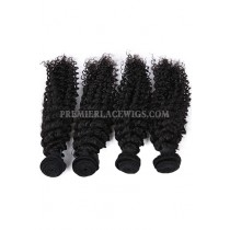 Hair Weft Deep Wavy Indian Virgin Human Hair