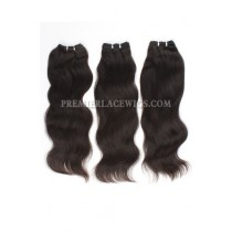 Brazilian Virgin Hair Weave Natural Straight 4ozs thick Hair 3 Bundles Deal