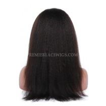 Italian Yaki virgin hair full lace wigs