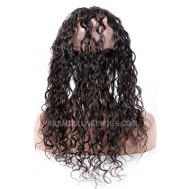 Peruvian Virgin Hair Loose Curl 360°Circular Lace Frontal