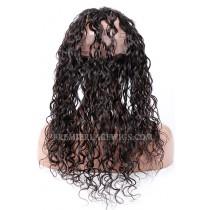 Peruvian Virgin Hair Loose Curl 360°Circular Lace Frontal
