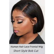 Bone Straight Bob Cut