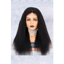 130% Density Affordable Lace Wig Kinky Straight