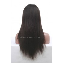 Chinese Virgin Hair Glueless Lace Wigs