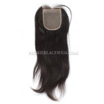 Brazilian Virgin Hair Silk Base Closure Silky Straight 4x4inches