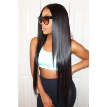 250% Density Lace Front Wigs Silky Straight Big Bomb Hair Seriously Thick Look