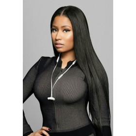 Relaxed Hair Yaki Texture Brazilian Virgin Hair 360 Lace Wig,150% Thick Density ,Pre-Plucked Hairline