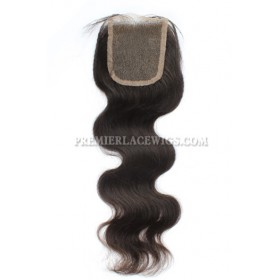Indian Virgin Hair Lace Closure Body Wave,4x4inches Base Size