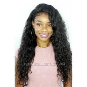 Brazilian Virgin Hair Full Lace Wigs Deep Body Wave