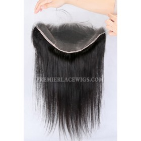 """Invisible Transparent HD Lace Frontal,13""""x6"""" 100% Cuticles Aligned Virgin Hair,Silky Straight"""