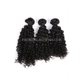 3 Bundles Deal Peruvian Virgin Hair Natural Color Water Wave Hair Extension