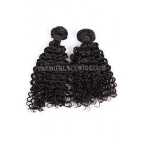 Water Wave Natural Color Peruvian Virgin Hair Weave 2 Bundles Hair Deal
