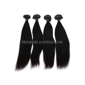 Indian Virgin Hair Weaves Silky Straight 4 Bundles Deal