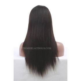 Chinese Virgin Hair Glueless Lace Front Wigs Silky Straight