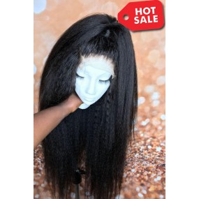 Super Thin Transparent HD Lace Kinky Straight