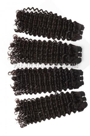 Brazilian Virgin Hair Weave Deep Curl 4ozs thick Hair 4 Bundles Deal
