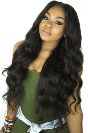 Body Wave Brazilian Virgin Hair Improved 360°Anatomic Lace Wigs