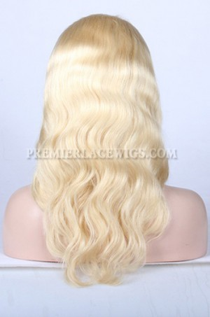 613# blonde hair full lace wig