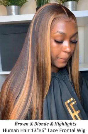Highlight Hair Bone Straight