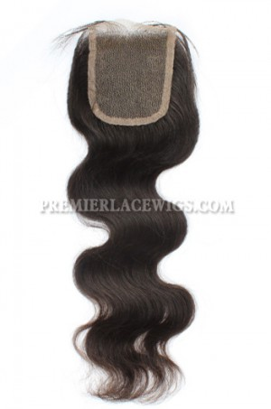 Peruvian Virgin Hair Lace Closure 4X4inches Body Wave