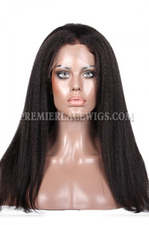 Kinky Straight Lace Front Wigs