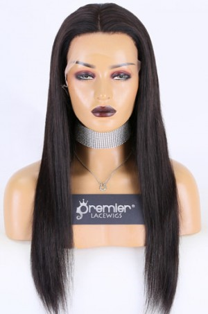 20 inches, natural black , 130%