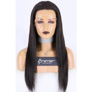 """Super Thin Transparent HD Lace, 13""""x4"""" HD Lace Frontal Wig, Silky Straight, Pre-plucked Hairline, Removable Elastic Band"""