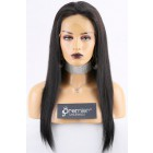 Full Lace Wigs Chinese Virgin Hair Silky Straight, 150% Thick Density